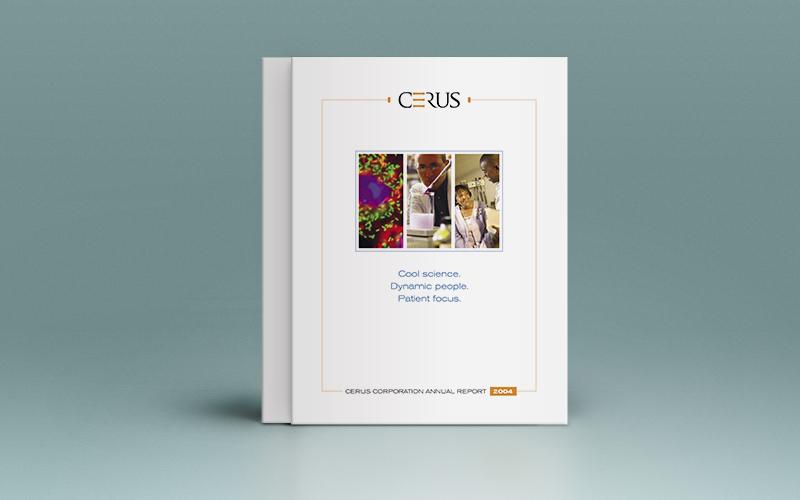 Cerus annual report cover