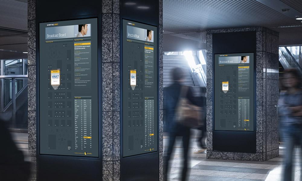 Symantec event information board